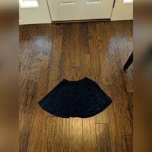 Navy Blue Hollister Circle Skirt